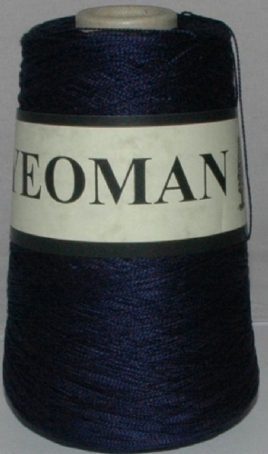 Perle Soft Mercerised Egyptian Combed Cotton - Navy - DISC